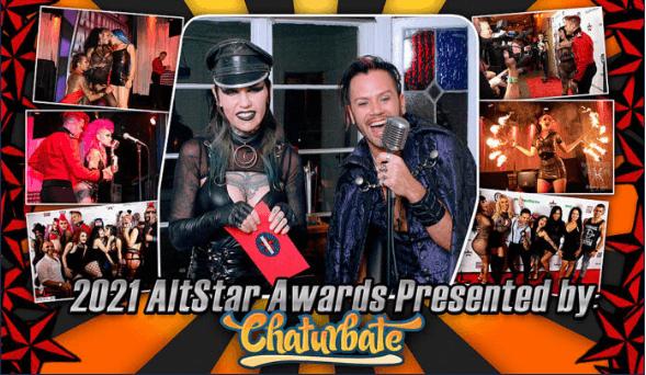 Chaturbate nominado en 13 categorías en los AltPorn