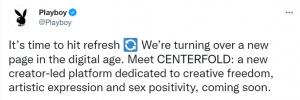 Playboy Centerforld