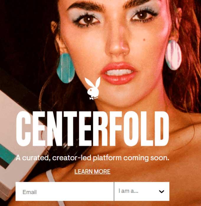 Playboy lanza su plataforma similar a OnlyFans, Centerfold